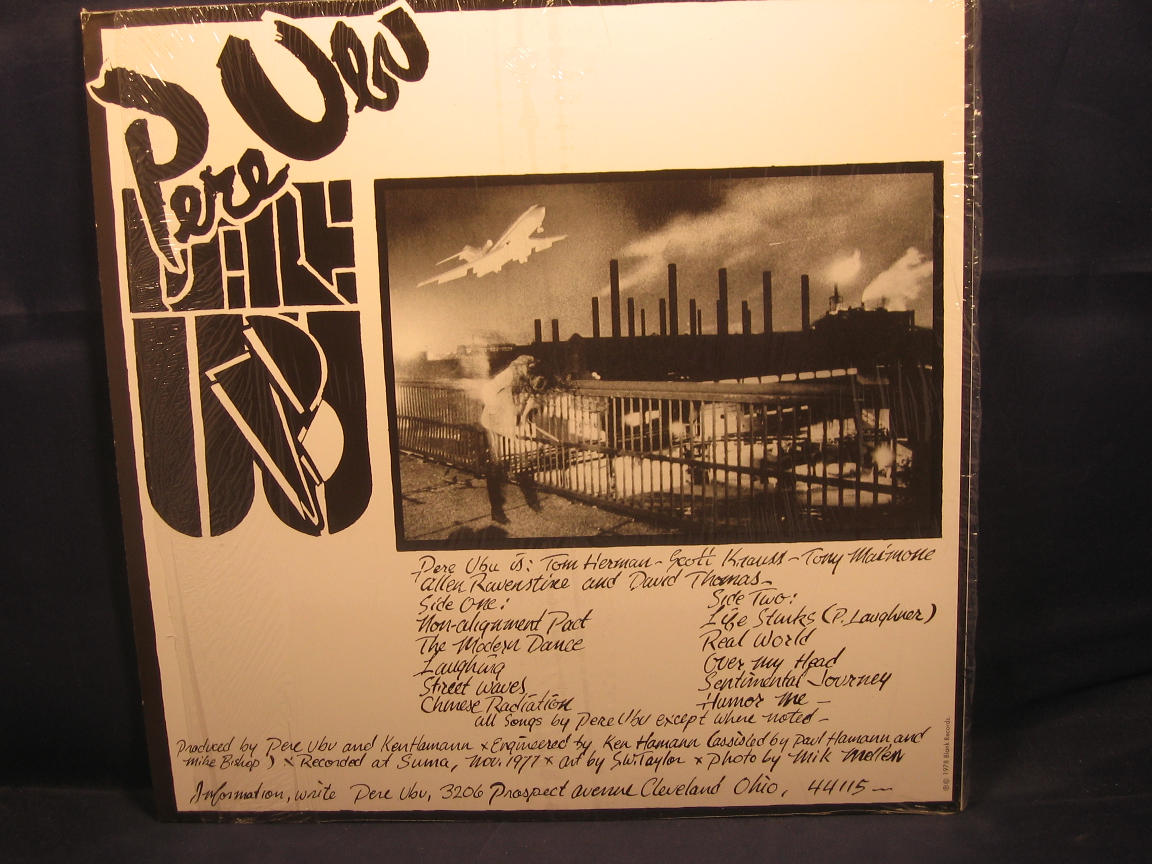 Pere Ubu Quot The Modern Dance Quot Lp 1978 Blank Records Blank